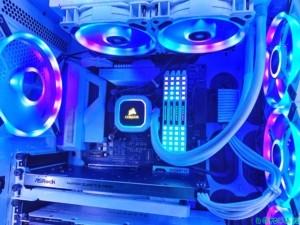 #13 MIKA's PC RGB PLATINUM WHITE / みか